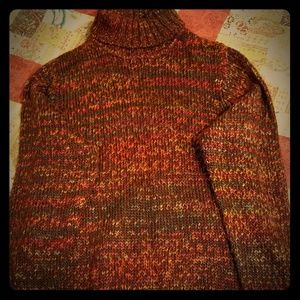 Nice fall colors sweater, JCPenney White Stag